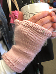 Fingerless Mitts on FlexiFlips - Learn to cast on and knit in the round on FlexiFlip needles, a cross between double point and magic loop.