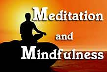 Meditation and Mindfulness, April 15, 22, 29; May 6 Meditation and Mindfulness Mondays, April 15, 22, 29; May 6 Instructor: Mark Gallagher