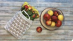 Fresh Crochet Market Bag With Diane Augustin May 31 and June 14 1-3 pm I hook 1 skein Euroflax linen