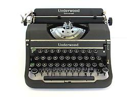 Underwood Universal (Gray) Collectible Portable Typewriter ON SALE NOW!