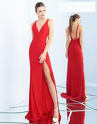 Ieena for Mac Duggal 25846 in Red Available in size 8