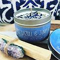 Lapis Lazuli & Juniper Soy Candle - CANDLE
