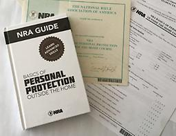 08/03/19 NRA Personal Protection Outside the Home This is Level 1 of Personal Protection Outside the Home ONLY and goes from 8 AM-6 PM on August 3, 2019 ONLY. Learn how to safely, effectively and responsibly use a concealed pistol for self-protection