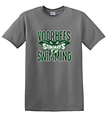 A - VST Short Sleeve T-Shirt_Sports Grey - Full screen with the New Voorhees Swim Team Logo