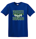 AA - VST Short Sleeve T-Shirt_Royal - Full screen with the New Voorhees Swim Team Logo