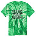 H - VST Tie-Dye Tee - Full screen on front with New Voorhees Swim logo