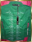 B2 THE LAST ONE Ladies Western Shirt - Ladies Size M Western Shirt by Western Envy., Beautiful Emerald Green, 100% cotton with fancy white stitching and pearl snaps.