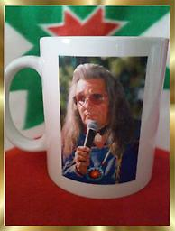 B1 OUT OF STOCK Kicking Eagle Coffee Mug 11 oz. Kicking Eagle coffee mug, full color photo of Kicking Eagle on one side and a Kicking Eagle quote on the reverse. NOT AVAILABLE ANYWHERE ELSE NO LONGER AVAILABLE AS OF JULY 6th 2019