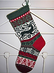 Hohoho With Judy - A beautiful fairisle stocking just in time for Christmas. Tuesdays, October 1, 15 & 29 1-3 pm