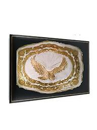 #8 EAGLE BUCKLE FOR YOUR CHAMPION Western Style Eagle Trophy Buckle designed by Crumrine Jewelers fit for YOUR CHAMPION at any rodeo,special occasion, or the office. New, but has been used for display... price lowered.