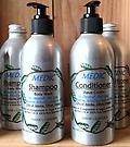 MEDIC Dandruff Shampoo & Conditioner - for Dandruff, Hair Loss, Eczema, Itchy/Dry Scalp -- Organic Oils of Jojoba, Olive & Neem -- Organic - Biodegradable - Vegan - Non GMO - No Palm Oil - 100% Pure Essential Oils