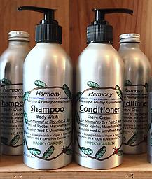HARMONY Balancing Shampoo & Conditioner-25% off Lavender, Orange, Spearmint & Cedarwood -- Aromatherapy BALANCING Shampoo/Body Wash & Conditioner/Shave Cream for Normal to Oily Hair & Skin --with Jojoba Oil, Unrefined Argan Oil & Rosehip Seed Oil