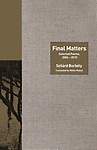 Final Matters - Szilard Birbeky Translated by Ottilie Mulzet