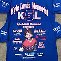 2019 K5L Tourney Shirt - Blue 2019 - K5L on the front and Kyle on the back *3X sold out*