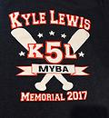 Tourney Shirt - Grey 2017 K5L - Grey 2017 K5L Tourney T-Shirt - with team names on the back