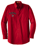 """AA - VMS Long Sleeve Button Down_Red - Right Chest embroidery w/ Personalization optional for an additional $7.00. Please See Item Z to add personalization. When checking out, please include name in the """"NOTE TO SELLER"""" box."""