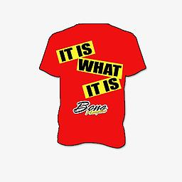 IT IS WHAT IT IS TSHIRT IT IS WHAT IT IS TSHIRT IN RED