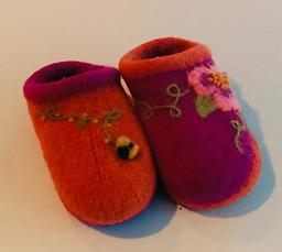 Embellish Your Felted Clogs with Marie Mayhew Saturday February 15 10am-noon