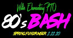 *Tickets to the Willis Annual Silent Auction & Spring Fundraiser: 80's Bash Purchase your ticket(s) to the event: Saturday, February 22nd from 6-9:30 at the Grove Ballroom on Lakewood Main Street. Included with each ticket is one sheet of Gecko Fun Cards.
