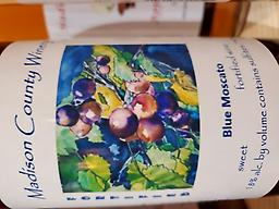 Blue Moscato Wonderful Blueberry and Moscato Port! 18% Alc. Can only be shipped in the state of Indiana. Ships in multiples of 3. Free shipping!