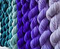 Worsted weight yarn of the month club**** 6 months*** - Beautiful worsted weight BFL superwash, hand dyed exclusive for club members.