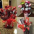 Medium Candy Bouquet - candy, nuts, jerky!!