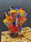 Large Candy Bouquet - mixed candy, and nuts and jerky!!