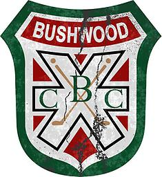 """Bushwood Decal – Distressed Style Bushwood Decal – Distressed Style (4"""", 8"""" or 12"""")"""