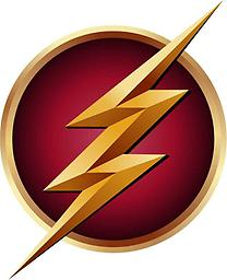 The Flash Repositionable Decal (Red) The Flash Repositionable Decal (Red)