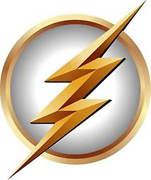 The Flash Repositionable Decal (White) The Flash Repositionable Decal (White)
