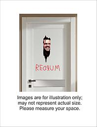 The Shining Here's Johnny Repositionable Decal + REDRUM Removable Wall Decal The Shining Here's Johnny Repositionable Decal + REDRUM Removable Wall Decal