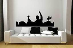 MST3K Mystery Science Theater 3000 Life-Size Removable Wall Art Decal MST3K Mystery Science Theater 3000 Life-Size Removable Wall Art Decal