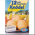 Dr. Willi Knoll 12 echt bayerische Knodel 2 for $10 - Make delicious Traditional Bavarian Style Potato Dumplings in approximately 30 minutes! Just whisk contents of package with water until smooth, allow to thicken, form into dumplings, and cook in a lar