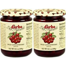 D'arbo WILD Lingonberries In Jars, 14.1oz 400g !2 for $16 Darbo Lingonberries Wild. Darbo wild lingonberry sauce is a real culinary delight and no wonder, with a fruit content of 60 %. The world's best lingonberries grow wild in Scandinavia.