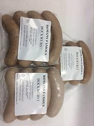 BOCKWURST German Sausage 20.oz $13 !! US SELLER !! You buy 20oz ,40oz,60oz and 64oz ,same shipping,if you have some quetion,please contact us 570-251-7751or E-mail us romansfamous@gmail.com