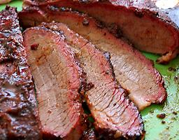 BBQ Smoked Beef Brisket !LOW SALT! Fully Cooked !! US SELLER !! 3lb for $40 if you have some question,please contact us 570-251-7751 or Email us romansfamous@gmail.com