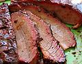 BBQ Smoked Beef Brisket !LOW SALT! Fully Cooked !! US SELLER !! - 3lb for $40