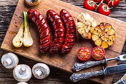 Portuguese traditional chouriço smoked sausage 0.85 LB hot or mild ! US SELLER ! 1p for $10,up to 6p,same shipping if you have some question,please contact us 570-251-7751 or Email us romansfamous@gmail.com