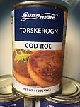 Cod Roe 14oz tin from Norway Delicacy, high in Omega 3 !! US SELLER !! - Buy up 4cans ,same shipping
