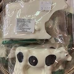 Cow Cow white chocolate 3.5oz Sometimes breaks in shipment