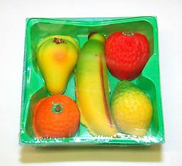 Bergen Mixed Fruit Marzipan Basket 4 oz (5 pieces) !! US SELLER !! 1 Baskets for $6 2 Baskets for $12 same shipping if you have some question,please contact us 570-251-7751 or Email us romansfamous@gmail.com