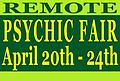 REMOTE PSYCHIC FAIR READING - REMOTE PSYCHIC FAIR READING - 15 minute reading. Members $25 , Non Members $30