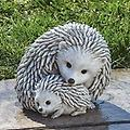 Hedgehogs - Curbside Pickup - Mama and baby hedgehogs 7 inches tall