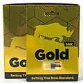 GOLD 14K - Setting the new standard. Time, size, stamina.