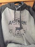 Gray Hooded Sweatshirt - Gray Two Tone Hooded Sweatshirt with pocket on the front. They fit nice and cozy. Sizes: Small, Medium, Large, XLarge