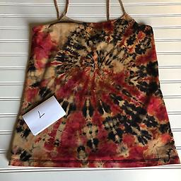Red and Black Size L Red and Black Cami Size L