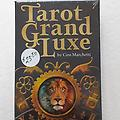 Tarot Grand Luxe - Tarot cards and book of instructions included.