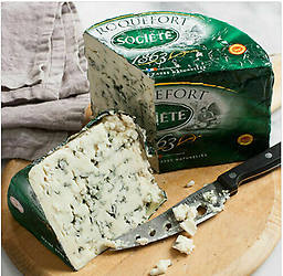 Societe 3 lb. Roquefort Cheese !! US SELEER !! if you have some question,please contact us 570-251-7751 or Email us romansfamous@gmail.com