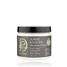 Almond and Avocado Nourishing Co-Wash Creamy, gentle formula cleanses without stripping hair of natural oils Saves up to 30 minutes in detangling time Results in soft, manageable, noticeably hydrated curls Free from parabens, paraffin and