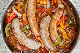 10 lb.SWEET Italian Sausage Homemade 85% Lean! Fully cooked if you have some question,please contact us 570-251-7751 or Email us romansfamous@gmail.com